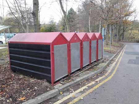 Cycle lockers