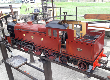 The locomotive The Yorkshireman