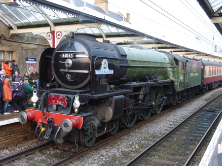 Tornado at Skipton Station